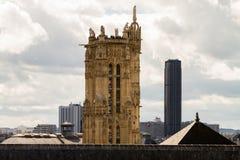 Catedral París de Notre-Dame Foto de archivo libre de regalías