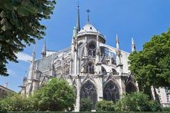 Catedral París de Notre Dame Fotos de archivo