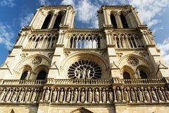 Catedral París de Notre Dame Imágenes de archivo libres de regalías
