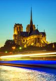 Catedral París de Notre Dame Imagen de archivo