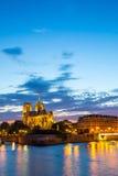 Catedral París de Notre Dame Imagenes de archivo