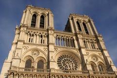 Catedral París de Notre Dame Foto de archivo