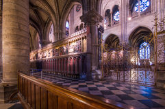 Catedral París de Notre Dame Fotografía de archivo libre de regalías