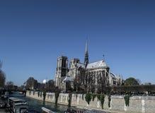 Catedral Paris de Notre Dame Imagens de Stock Royalty Free