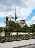 Catedral Paris France de Notre Dame Imagens de Stock Royalty Free