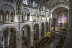 Catedral Pasillo de Ribe Imágenes de archivo libres de regalías