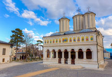 Catedral patriarcal ortodoxa, Bucarest, Rumania imagen de archivo