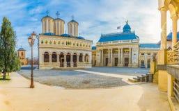 Catedral patriarcal ortodoxa de Bucarest fotografía de archivo
