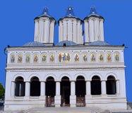 Catedral patriarcal rumana, Bucarest Rumania foto de archivo