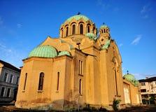 Catedral patriarcal, Veliko Tarnovo, Bulgária Imagem de Stock