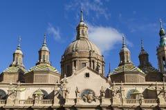 Catedral Pilar, Zaragoza Fotografía de archivo