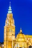 Catedral Primada,托莱多,西班牙, 库存图片
