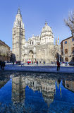 西班牙托莱多 Catedral Primada圣玛丽亚 免版税库存图片