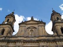 Catedral Primada De Kolumbien stockbilder
