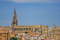 Catedral Primada Santa María de Toledo Imagens de Stock
