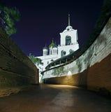 Catedral Pxkov da trindade Imagens de Stock Royalty Free