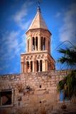 Catedral rachada, Croácia Fotografia de Stock Royalty Free