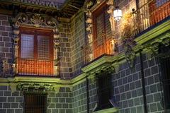 Catedral real de Granada na noite Imagens de Stock Royalty Free