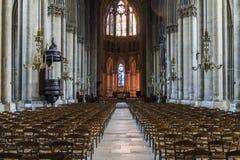 Catedral Reims Fotos de Stock Royalty Free
