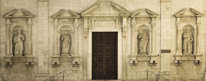 Catedral romana Imagen de archivo