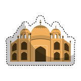 Catedral rome isolated icon. Illustration design Stock Photos