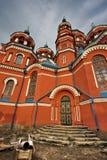 Catedral rusa ortodoxa Imagen de archivo