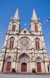 Catedral sagrada del corazón de Shishi en Guangzhou, China imagen de archivo