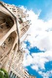 Catedral Sagrada Familia Foto de archivo libre de regalías