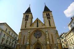 Catedral sagrado do coração Foto de Stock Royalty Free