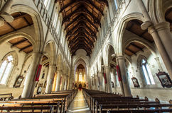 Catedral sagrado do coração em Bendigo, Austrália Imagens de Stock