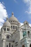 Catedral sagrado do coração (Sacre Coeur) Fotografia de Stock Royalty Free