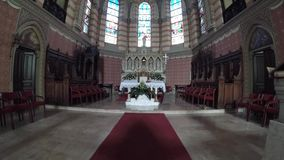 A catedral sagrado Katedrala Srca Isusova do coração é uma igreja Católica no refe de Sarajevo geralmente filme