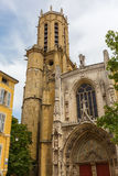 Catedral Saint Sauveur em Aix-en-Provence, França Imagem de Stock Royalty Free