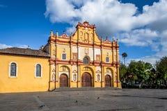 Catedral - San Cristobal de Las Casas, Chiapas, México fotografia de stock royalty free