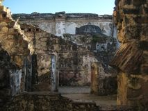 Catedral San Jose Αντίγκουα Γουατεμάλα στοκ εικόνες