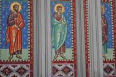 Catedral, San Mateo Apostol em Osorno, o Chile Fotos de Stock Royalty Free
