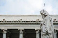 Catedral San Pablo fuera de las paredes Roma Foto de archivo