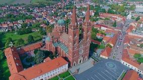 Catedral San Pedro de Djakovo almacen de video