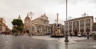 Catedral Santa Agata de Catania Fotografía de archivo