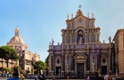 Catedral Santa Agata de Catania Foto de archivo libre de regalías