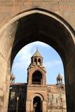 Catedral santa de Echmiadzin Fotografía de archivo libre de regalías