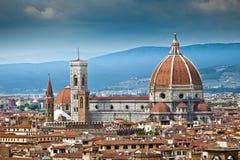 Catedral Santa María del Fiore en Florencia Fotografía de archivo