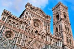 Catedral Santa María del fiore en Florencia Italia Fotografía de archivo