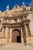 Catedral Santa Maria de la Major Montblanc Imágenes de archivo libres de regalías