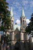 Catedral Sao Paulo del SE fotos de archivo