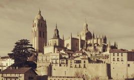 Catedral Segovia Imagen de archivo libre de regalías