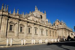 Catedral, Sevilha, Spain. fotos de stock