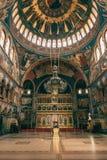 Catedral Sibiu recolhido interior Romênia Fotos de Stock
