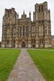 Catedral Somerset, Inglaterra, Reino Unido de Wells Imágenes de archivo libres de regalías