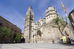 Catedral spain de Toledo Fotografia de Stock